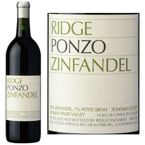 Ridge Ponzo Russian River Zinfandel