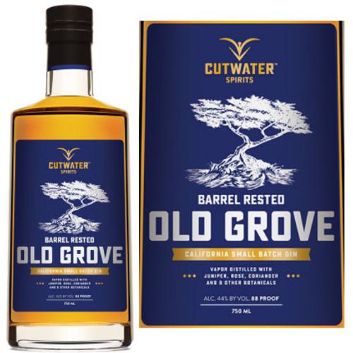 Cutwater Spirits Barrel Rested Old Grove California Small Batch Gin 750ml