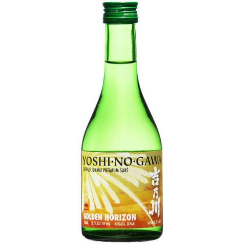 Yoshinogawa Golden Horizon Echigo Junmai Sake 300ml