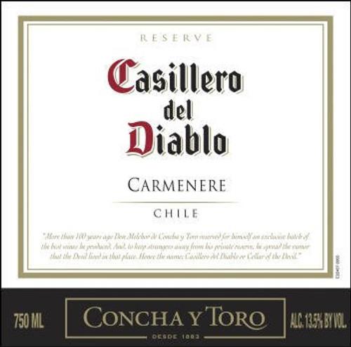 Concha Y Toro Casillero del Diablo Reserve Carmenere