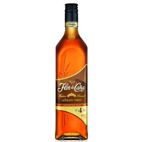 Flor de Cana Anejo Oro 4 Year Old Nicaragua 750ml