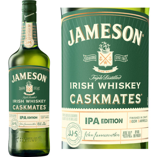 Jameson Caskmates IPA Edition Irish Whiskey 750ml