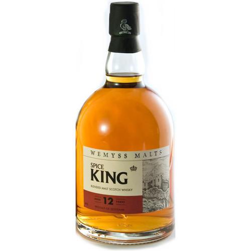 Wemyss SPICE KING 12 Year Old Blended Malt Scotch 750ml
