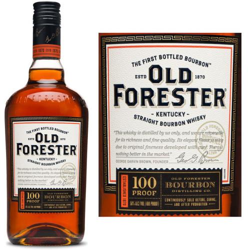Old Forester 100 Proof Kentucky Bourbon 750ml