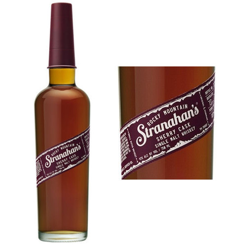 Stranahan's Sherry Cask Single Malt Colorado Whiskey 750ml