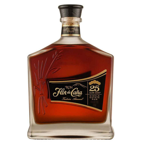 Flor de Cana 25 Year Old Single Estate Rum 750ml
