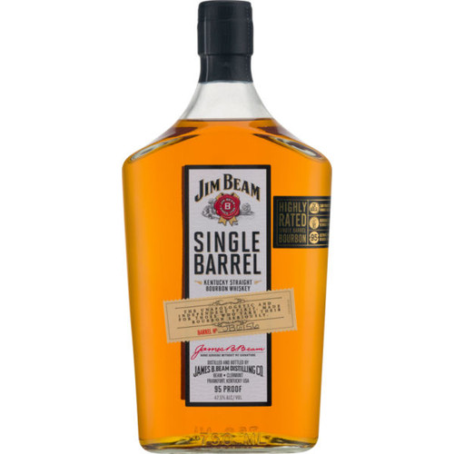 Jim Beam Single Barrel Bourbon Whiskey 750ml