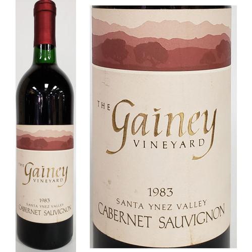 Gainey Santa Ynez Cabernet