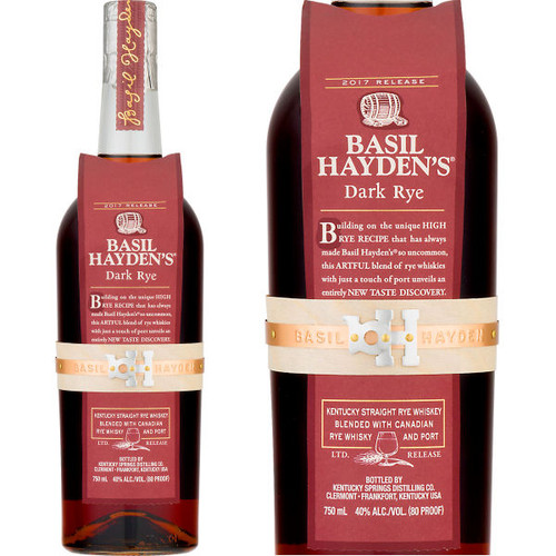 Basil Hayden's Dark Rye Whiskey 750ml