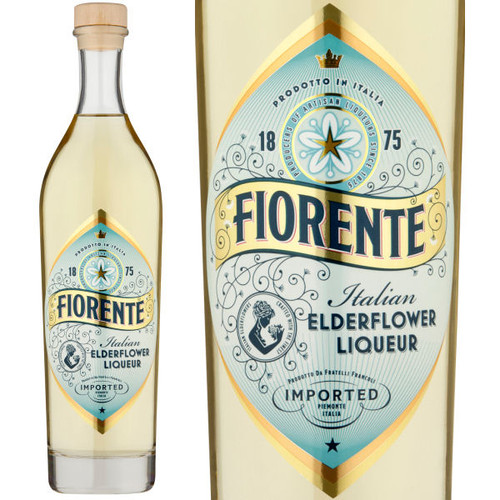 Fiorente Italian Elderflower Liqueur 750ml