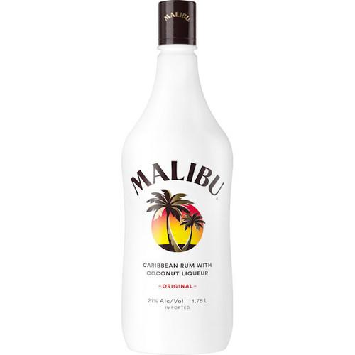 Malibu Original Caribbean Rum With Coconut Liqueur 1.75L