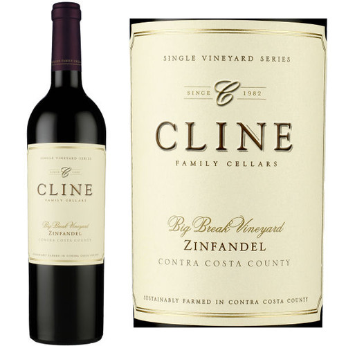 Cline Cellars Big Break Vineyard Contra Costa Zinfandel