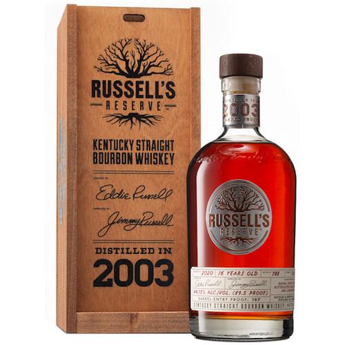 Russell's Reserve 2003 Barrel Proof Kentucky Straight Bourbon 750ml