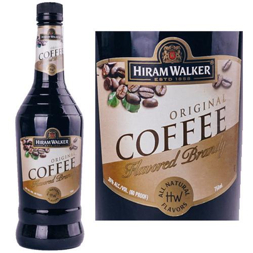 Hiram Walker Coffee Flavored Brandy US 1L