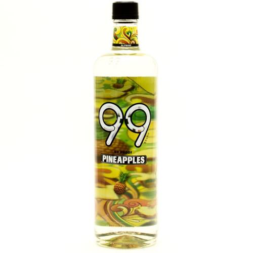 99 Pineapple Schnapps Liqueur 750ml