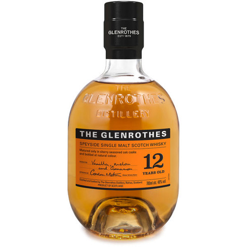 The Glenrothes 12 Year Old Speyside Single Malt Scotch 750ml