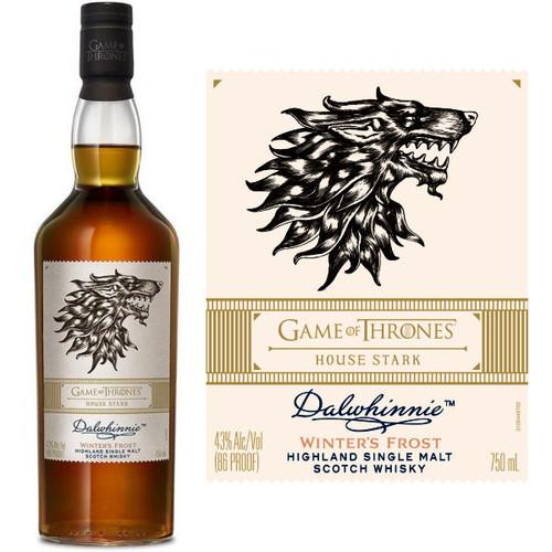 Dalwhinnie Game of Thrones House Stark Highland Single Malt Scotch 750ml