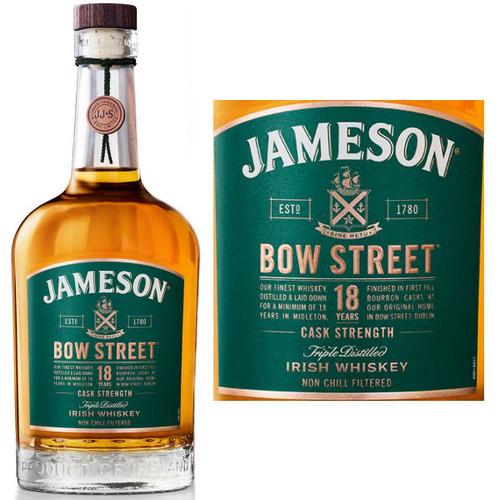 Jameson Bow Street 18 Year Old Cask Strength Irish Whiskey 750ml