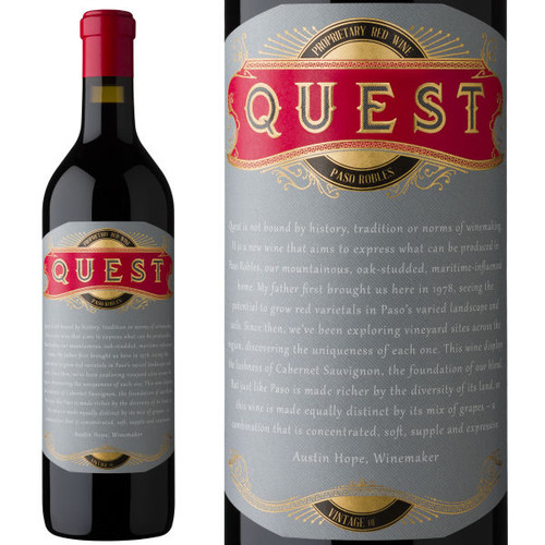 Quest Paso Robles Proprietary Red Wine