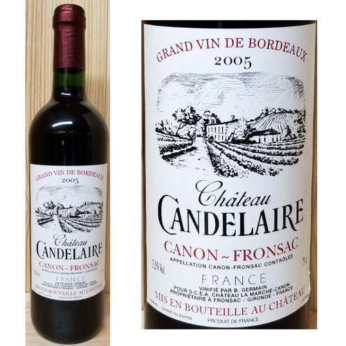 Chateau Candelaire Canon-Fronsac