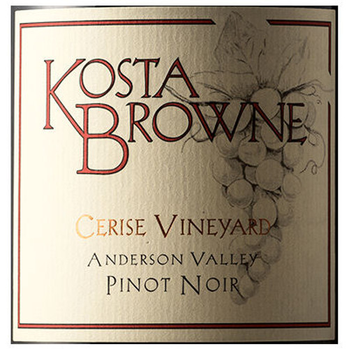 Kosta Browne Cerise Vineyard Anderson Valley Pinot Noir