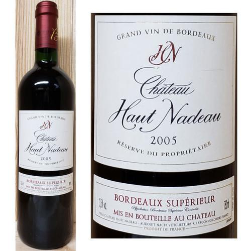 Chateau Haut Nadeau Grand Vin de Bordeaux