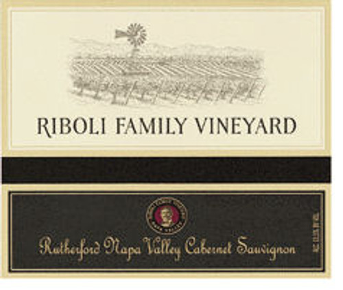 Riboli Family Vineyard Rutherford Cabernet