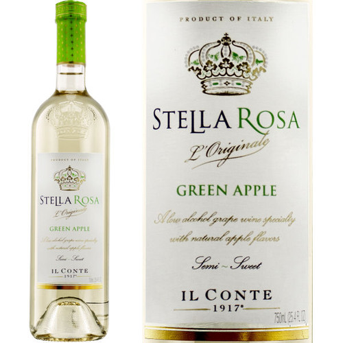 Il Conte d'Alba Stella Rosa Green Apple NV (Italy)