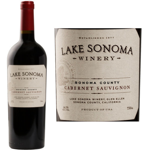 Lake Sonoma Sonoma Cabernet