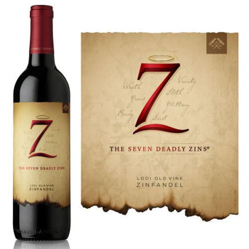 The Seven Deadly Zins Lodi Zinfandel