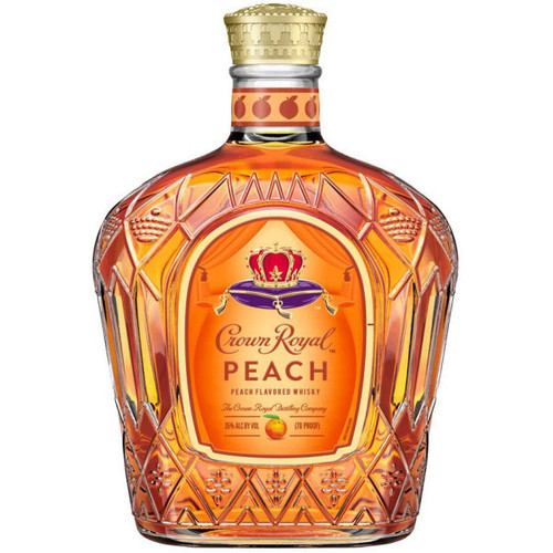 Crown Royal Peach Flavored Canadian Whisky 750ml