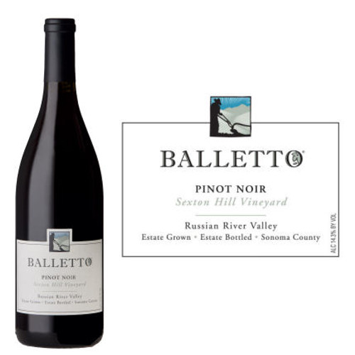 Balletto Sexton Hill Vineyard Russian River Pinot Noir