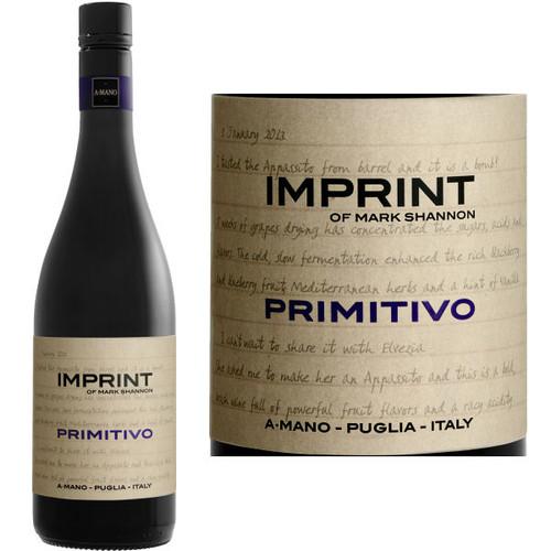 A Mano Imprint Primitivo Puglia IGT