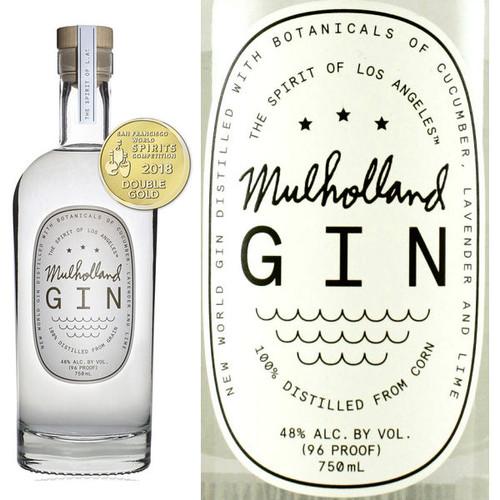 Mulholland New World American Gin 750ml