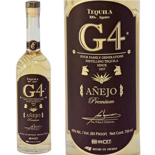 G4 Anejo Tequila 750ml