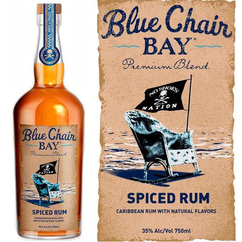 Kenny Chesney Blue Chair Bay Spiced Rum 750ml