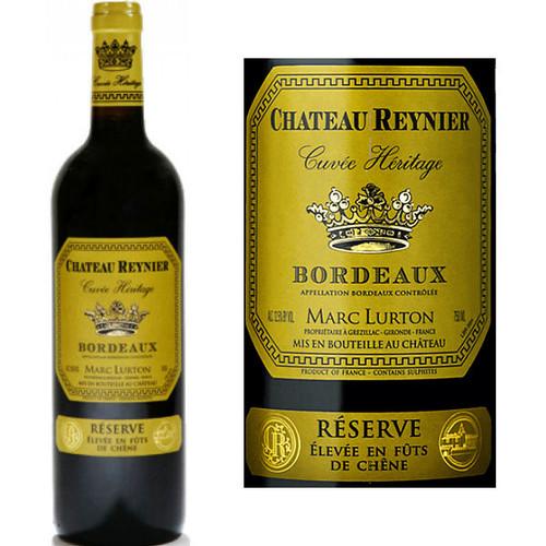 Chateau Reynier Cuvee Heritage Reserve Bordeaux