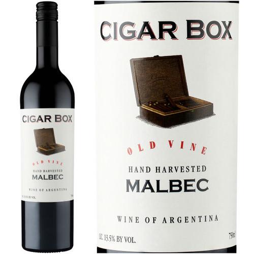 Cigar Box Old Vine Mendoza Malbec