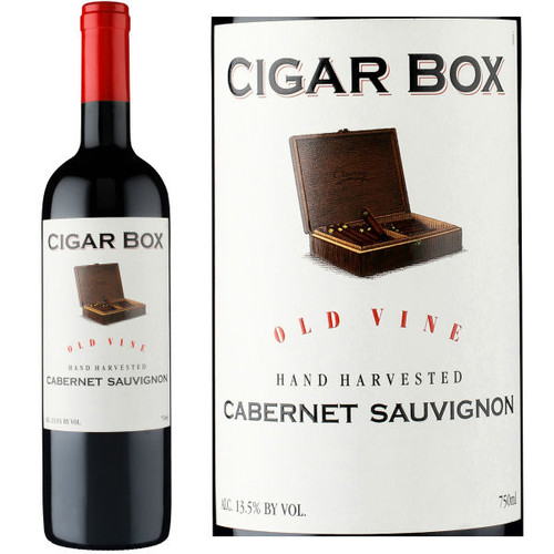 Cigar Box Old Vine Cabernet