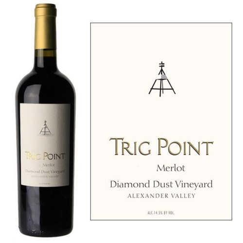 Trig Point Diamond Dust Vineyard Alexander Merlot