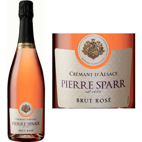 Pierre Sparr Cremant D'Alsace Brut Rose NV