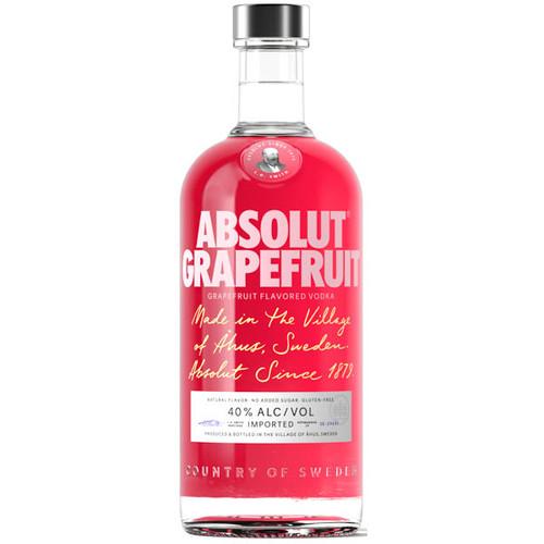 Absolut Grapefruit Swedish Grain Vodka 750ml