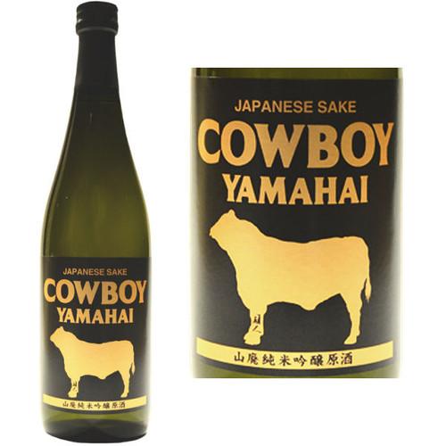 Shiokawa Cowboy Yamahai Junmai Ginjo Sake 720ml