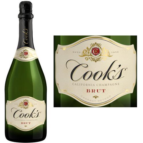 Cook's Brut California Champagne NV