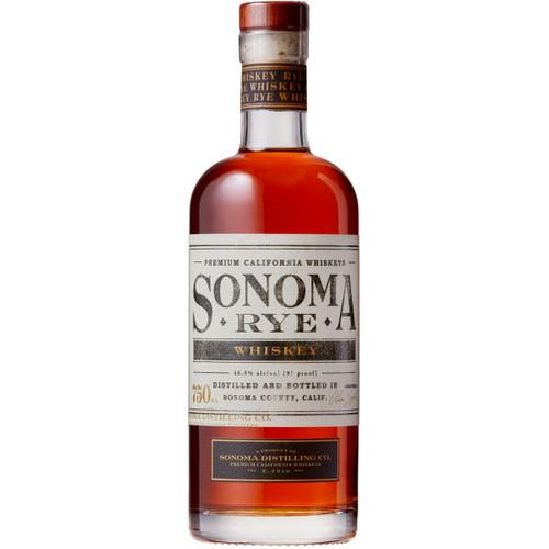 Sonoma Distilling Rye Whiskey 750ml