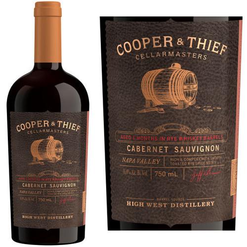 Cooper & Thief Rye Whiskey Barrel Aged Napa Cabernet