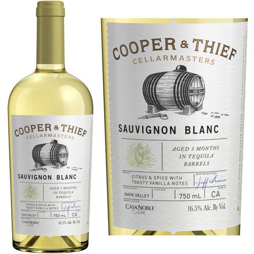 Cooper & Thief Tequila Barrel Aged Napa Sauvignon Blanc