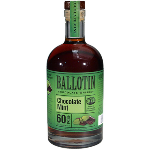 Ballotin Chocolate Mint Chocolate Whiskey 750ml