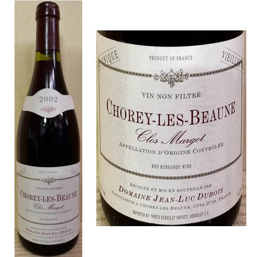 Domaine Jean-Luc Dubois Chorey-Les-Beaune Clos Margot Red Burgundy