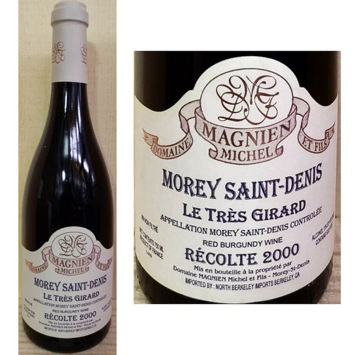 Domaine Magnien Michel Morey Saint-Denis Le Tres Girard Red Burgundy
